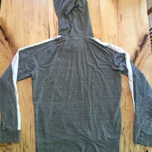 American Eagle Outfitters Shirts - American Eagle Hoodie - Grey / White Medium